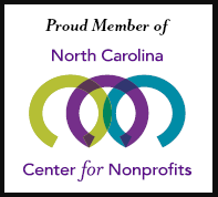 Proud Member of North Carolina Center for Nonprofits
